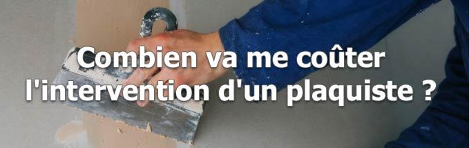 Demande pour installation de cloisons sèches}