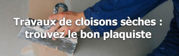 Demande de devis de cloisons} à Plougastel-Daoulas