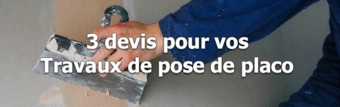 Demande pour travaux de cloisons sèches} à Ambérieu-en-Bugey